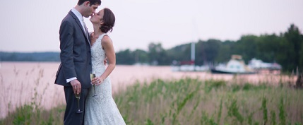 Oxford MD waterfront wedding